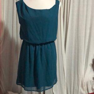 Top shop Honey Punch teal dress